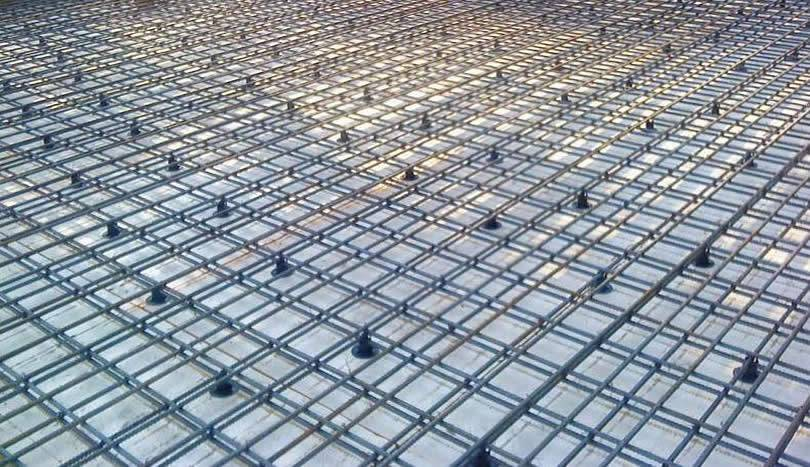 Concrete Slab Mesh for Slab and Wall Reinforcement 6 m × 2 4 m